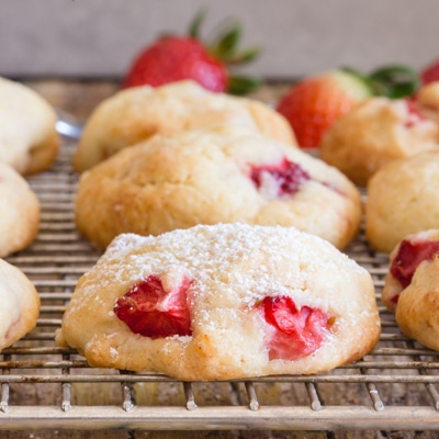 Easy Strawberry Cookies
