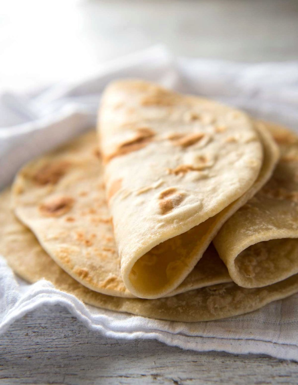 Easy Soft Flatbread (No Yeast)