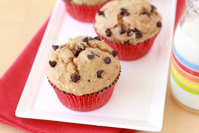 Best-Ever Chocolate Chip Muffins
