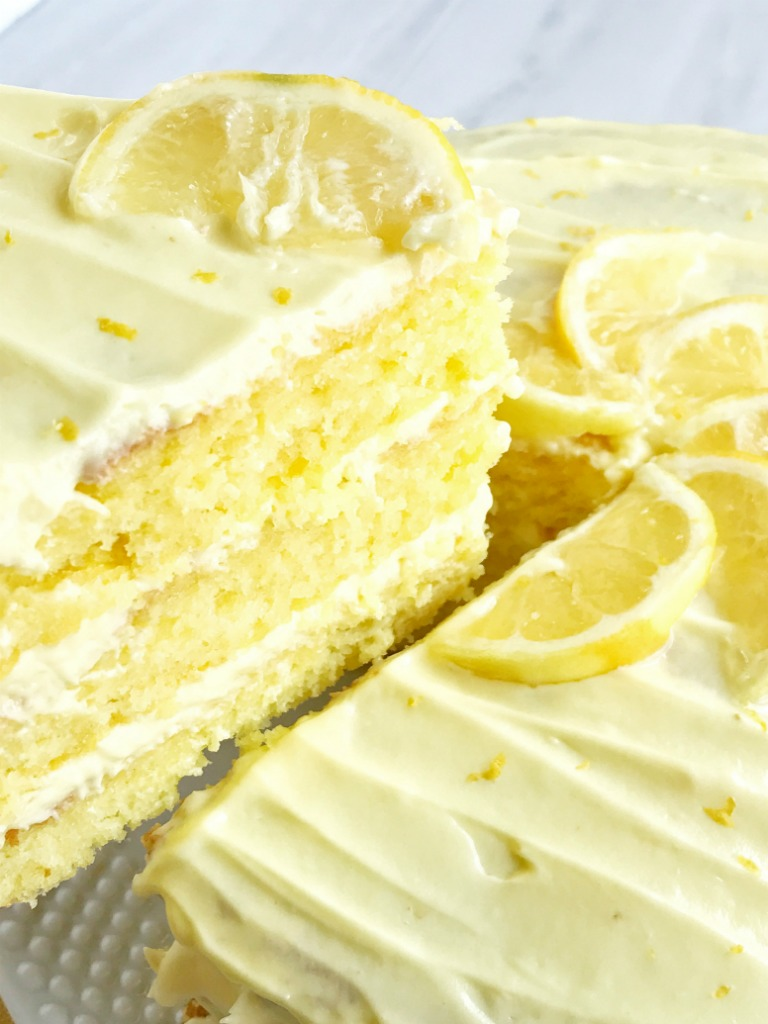 {easy} Lemon Lovers Layered Cake